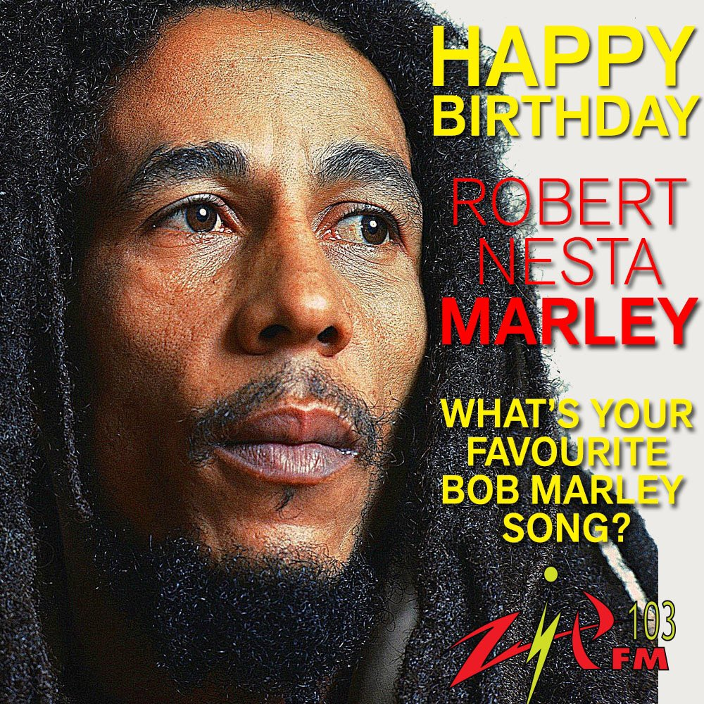 Happy Birthday to @bobmarley #thegreatestartiste #ReggaeMonth #Reggaeambassador #singersongwriter #legendary https://t.co/HnZoVl2tFd