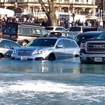 Multiple cars have submerged into Lake Geneva. Submit your photos here: https://t.co/IvlO7n0jDa https://t.co/Iq1Db4EKmb