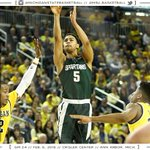 Michigan State downs Michigan, 89-73. Bryn Forbes led the Spartans with 29 points. https://t.co/sbG5vFAAJM