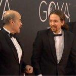 #UltimaHora en #Goya2016: Pablo Iglesias pide a Antonio Resines la vicepresidencia de la academia de cine. ???? https://t.co/YjMiKgXB93