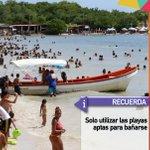 Recuerda solo utilizar las playas aptas para bañarse en estos #CarnavalesSeguros2016 https://t.co/FTWdiUPx6N #TropaTuiteraEnRevolucion