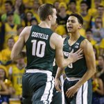 Michigan State dominates Michigan from beginning to end in easy rout https://t.co/mHOhqsVZnq #Spartans https://t.co/l7QpC5TJS9