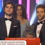 """Pablo Alborán: """"Que no nos corten las alas ni en el cine ni en la música"""" https://t.co/BRRmRSlbfp #Goya2016 https://t.co/cqsD4uzulI"""