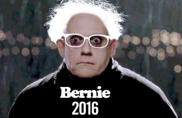 """#MakeaMovieFeelTheBern https://t.co/wYRSSq0PLW """"Uncle Bernie"""""""
