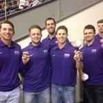 The best t-shirt tossers in town. @TCU_Baseball #GoFrogs https://t.co/hupMLARqzE