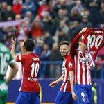 """. @Simeone: """"Una felicitación enorme para @Torres. Ha sido muy emocionante"""". #AúpaAtleti #AtletiEibar https://t.co/xHnRA2PadS"""