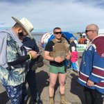 Custer County sheriffs department on hand for the Polar Plunge at Lake Pueblo https://t.co/G2mV5qCHqr