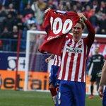 Todo un orgullo haber alcanzado 100 goles con este escudo. Ahora y siempre ¡Forza Atleti¡ https://t.co/QuOyGC21oq