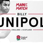 and your #CalcuttaCup2016 Man of the Match is...@bvunipola! Congrats Billy, massive performance! #carrythemhome ???? https://t.co/fVZj5Ii85r
