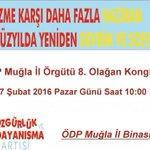 Denizli, Edirne ve Muğla il kongrelerimiz 7 Şubat Pazar günü gerçekleştirilecek https://t.co/DzgvcEGkBH