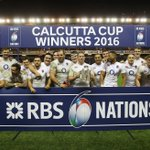 Your #CalcuttaCup2016 winners: ENGLAND #carrythemhome 🌹👊 https://t.co/EUcA7x9nGO