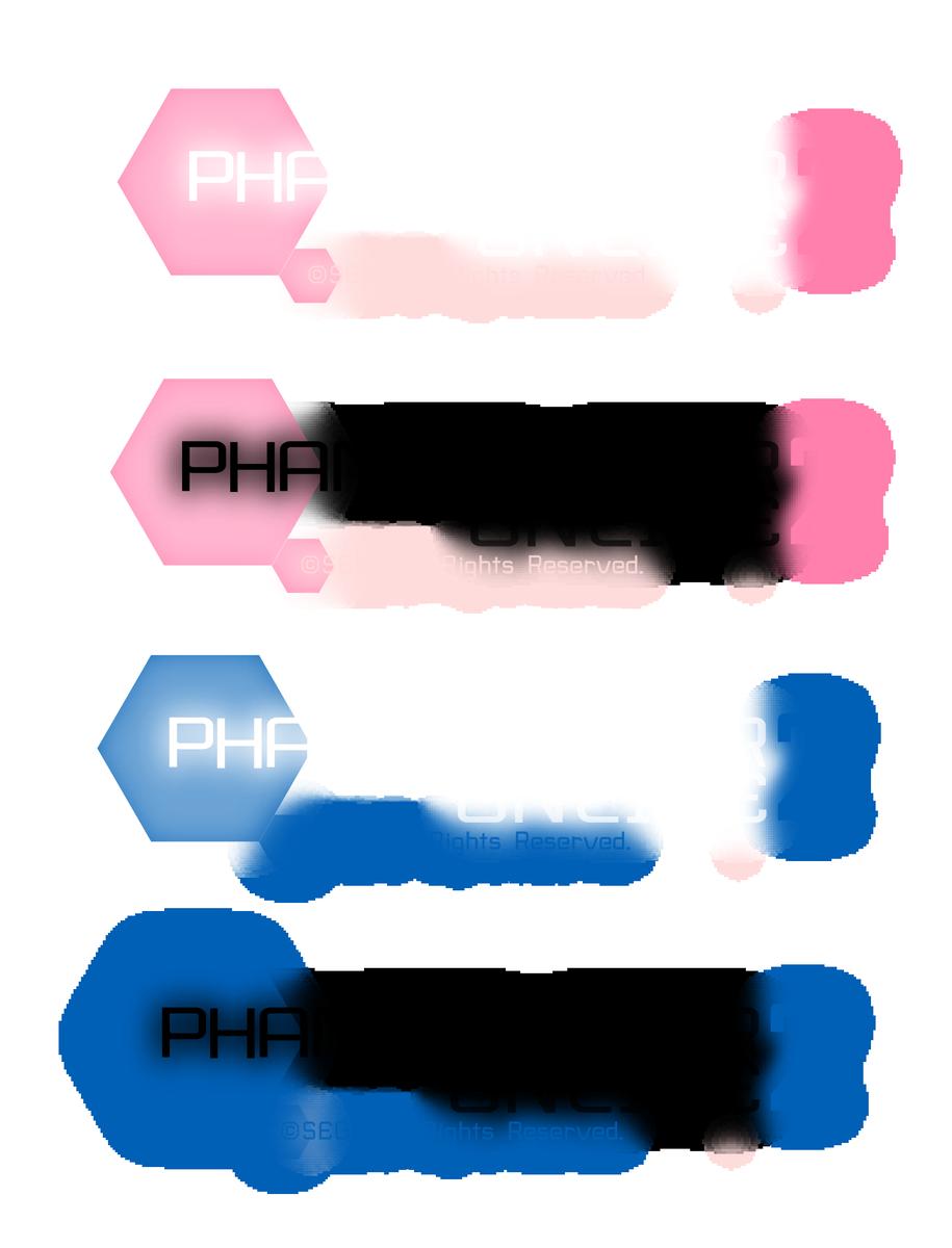 """使いやすいかどうか分からないロゴ配布いたしまするヾ(:3ノシヾ)ノシ""""是非に~  #PSO2 #PSO2自作ロゴ https://t.co/TwzemP2Hc2"""
