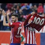 Gracias por ser nuestro ejemplo @Torres  Felicidades por tu gol numero 100 con el @Atleti https://t.co/7w6bwTFRpA
