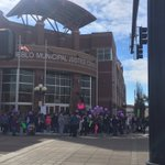Huge turnout for justice walk in honor of Kelsie Schelling. Kelsie has been missing for 3 years. https://t.co/jNbGmuAVAK