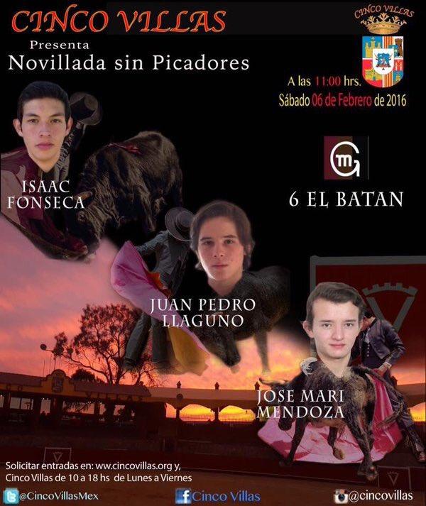 CINCOVILLAS - 6 Febrero 2016 Gracias a Televisa Deportes