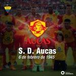 ¡71 años de Historia! Felicitamos a Sociedad Deportiva Aucas en su fecha de Fundación #FelicidadesPapáAucas https://t.co/bx2fdlzXTR