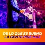 Por qué lo ha pedido la Gente!, retransmitimos mañana Domingo discurso lanzamiento campaña de @DaniloMedina https://t.co/wUWxLrVR2v