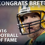 #BrettFavre elected to the Pro Football Hall of Fame on first ballot: https://t.co/waxmoaMrXw https://t.co/OXnCL8uJtr