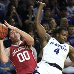 Game Story: #KState upsets No. 1 Sooners behind Iwundu, Wade https://t.co/fMCVhlsdEO https://t.co/qq5AfvoXmf