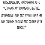 NO TO AUTO VOTING! Let us fight w/ MIGHT on HIGH GROUND w/ INTEGRITY @bernardokath @min_bernardo @imdanielpadilla https://t.co/CX4pVBtOlD