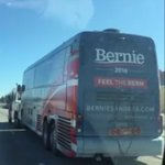 Bernie Sanders campaign is bus being pulled by a tow truck. The perfect metaphor or what? https://t.co/FSKidvteSj
