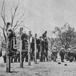 Austro-Hungarian soldiers executing men and women in Serbia, 1916. https://t.co/OKEoqTU79i