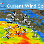 Sustained wind speeds of 50 gusting to ~65 km/h right now in Saskatoon. #yxe https://t.co/2bVbbwpqtm