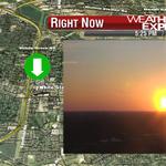 Approaching #sunset on the #WREG @3onyourside @HiltonHotels East #Memphis cam. https://t.co/azyuI37bp0