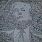 A portrait of Donald Trump, made out of the most offensive things Donald Trump has said https://t.co/1BIzwbQv7B https://t.co/aphLM80nkW