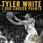 With a layup vs. @MKE_MBB, Tyler White just became the 25th Norse in NKU history to score 1,000 career pts! #NorseUp https://t.co/0qbvdrnf1h