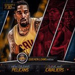 GAMETIME: The Cleveland Cavaliers take on the New Orleans Pelicans! #CavsNation https://t.co/rBAPqLFSh7