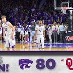 CATS WIN! #KStateMBB takes down top-ranked Oklahoma, 80-69! https://t.co/SyLMtepK1S