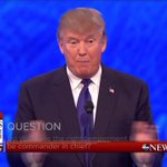 """Donald Trump: """"We have to have a temporary something, because something is going on."""" #GOPDebate https://t.co/ZFCJCWfbgG"""