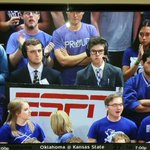 Hey @espn and @kstate_pres , these #Kstate students. #winning https://t.co/u2ZpVl3QCP