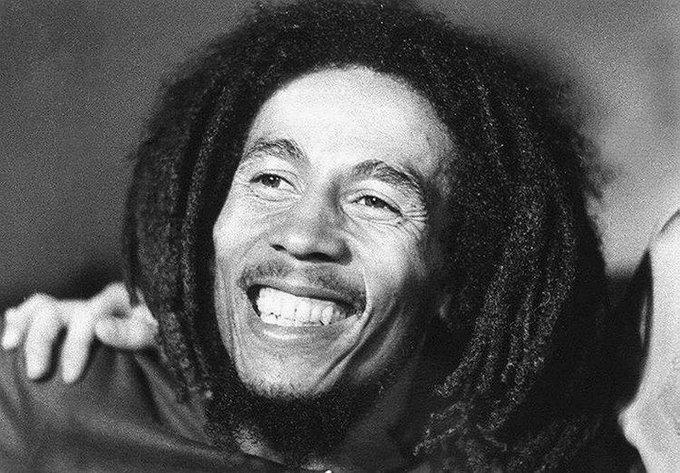 < via    > Happy 71st birthday Bob Marley