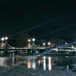 Beautiful night for a walk in a winter wonderland. #Boston https://t.co/m9yM2dLD57