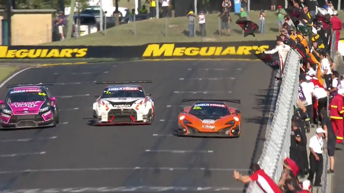 What a finish. 2nd place for #OMGTR but @KATSUMASA_CHIYO is our HERO! #B12hr @NISMO_JP https://t.co/PwM3vglrvv