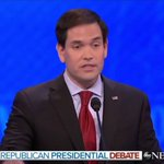 Rubio gets stuck on repeat, delivers same canned line 3 times in 3 minutes https://t.co/EeQXT8UUrK #GOPdebate https://t.co/Xx5C494oAs
