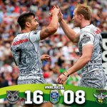 The @NZWarriors have secured their place in the Semi Finals!  @downergroup #NRLAKL9s https://t.co/XMZRunAlqo