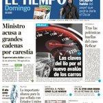 RT @Uinvestigativa: Les compartimos la primera página de @ELTIEMPO de Domingo. https://t.co/Tj0C8WbOQQ