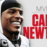 Cam Newton has been named AP MVP.   The Carolina @Panthers QB led his team to the Super Bowl and a 15-1 record. https://t.co/tS7lDMpXkU