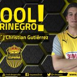 ¡GOOOOOOOOOOOOOOOL DE LA MÁQUINA! Christan Gutiérrez debuta marcando tras gran asistencia de Foliados. https://t.co/AR5eNBDzcG