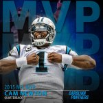 Superman is the 2015 Most Valuable Player. Congratulations, @CameronNewton! #NFLHonors https://t.co/TvfUsn0FLH