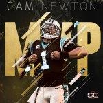 Cam Newton has won the 2015 AP NFL Most Valuable Player award. https://t.co/zHoAYPfOW0