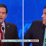 JUST IN: #GOPdebate crowd boos Rubio for repeatedly pivoting to Obama attacks | WATCH: https://t.co/s0tcfXPTBp https://t.co/lFVZYPnf93