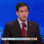Rubio booed by #GOPdebate crowd for repeatedly pivoting to Obama attacks | WATCH: https://t.co/oIfnEbtga8 https://t.co/YsqUpyGmuZ
