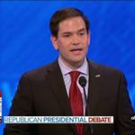 "JUST IN: Rubio: Obama pushing ""fiction"" of anti-Muslim discrimination | WATCH: https://t.co/vBKNFL67QK #GOPdebate https://t.co/j8qSWbOvKa"