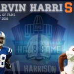 Paint the #HoF ORANGE. Congrats to Marvin Harrison and the rest of the 2016 Class! 🍊🍊🍊 https://t.co/x8HZmnzr3O