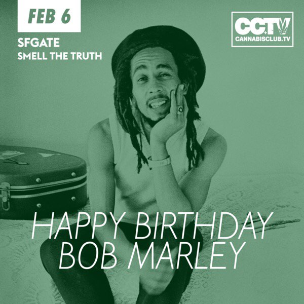 Happy 71st Birthday to the one & only Bob Marley!