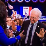 Alright, here we go: Bern Your Enthusiasm #SNL: https://t.co/nSG7klej5W